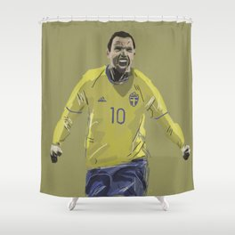 Dare to Zlatan Shower Curtain
