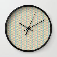 pixel art Wall Clocks featuring Pixel  by Colocolo Design | www.colocolodesign.de