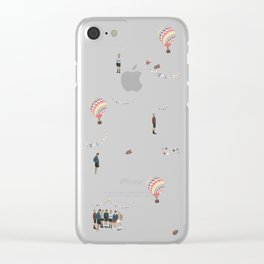 BTS Young Forever Pattern - Pink Clear iPhone Case