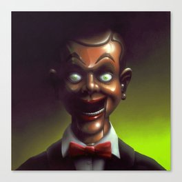 Night of the Living Dummy Canvas Print