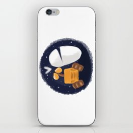 walle and eve iPhone Skin