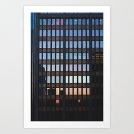 Chicago - Mecca of the Midwest II Art Print