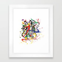 Pollock Remembered by Kathy Morton Stanion Framed Art Print