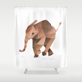 Elephant. Shower Curtain