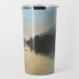 Lake Sutherand Sunset Travel Mug