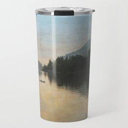 Lake Sutherand Sunset Travel Mug