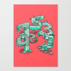 Odd Numbers Canvas Print