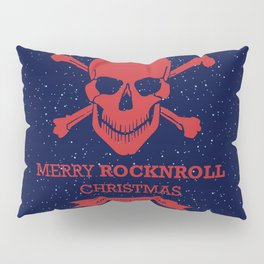 Rock and Roll Christmas Pillow Sham