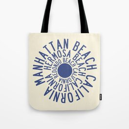 Manhattan Hermosa & Redondo Tote Bag