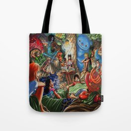 One piece of sleep with friends Tote Bag