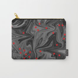 Oil Spill & Blood Droplets Carry-All Pouch