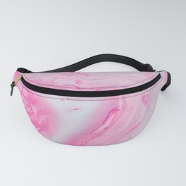 abstraction circles stains pinka Fanny Pack