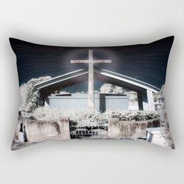 Glowing Cross / Key West Cemetery Rectangular Pillow
