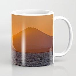 Shonan Sunset - Mount Fuji with Enoshima Coffee Mug