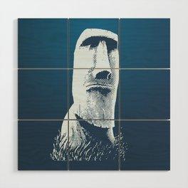 Moai #1 Wood Wall Art