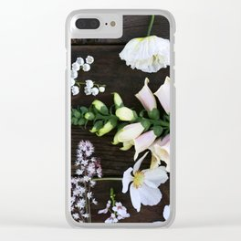 Spring Gathering Clear iPhone Case