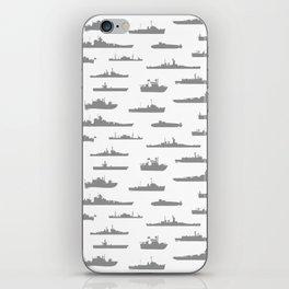 Battleship // Grey iPhone Skin