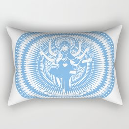 Holy Mary Rectangular Pillow