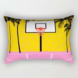 Dope - memphis retro vibes basketball sports athlete 80s throwback vintage style 1980's Rectangular Pillow