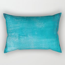 Believer of Blue - Acrylic painting Rectangular Pillow