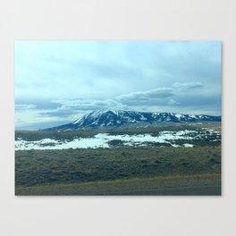 Majestic Wyoming Mountain Canvas Print