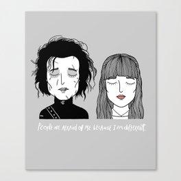 E & K Canvas Print