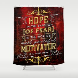 Hope in the shadow Shower Curtain