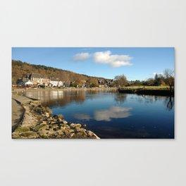Callander Reflections Canvas Print