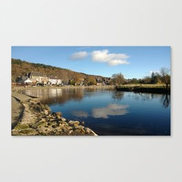 Callander Reflections Canvas Print