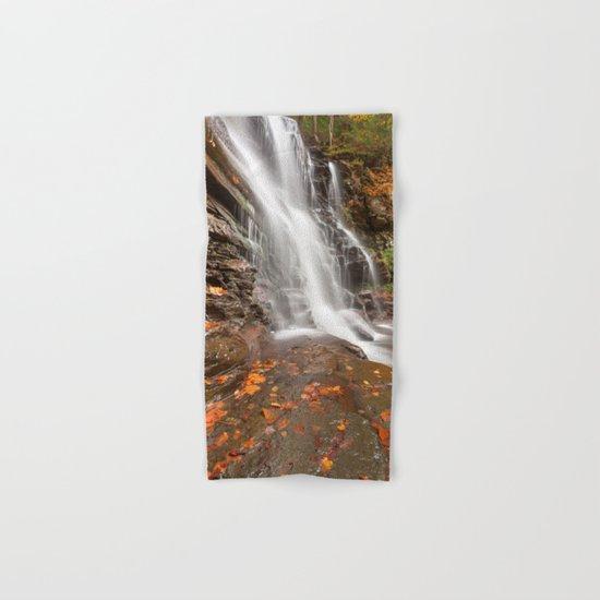 Autumn Ganoga Falls Hand & Bath Towel