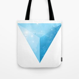 cosmic triangle Tote Bag