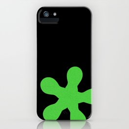 Design5 Lime Green N iPhone Case