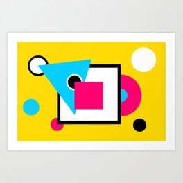Abstract Contraption of sorts? Art Print