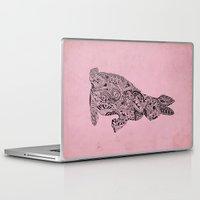 rabbit Laptop & iPad Skins featuring Rabbit by Suburban Bird Designs