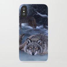 Winter Night Slim Case iPhone X