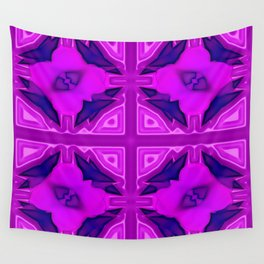 Softly lilac ornamentation Wall Tapestry