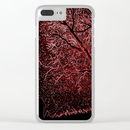 Dreamer II Clear iPhone Case