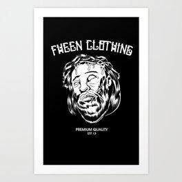 Fheen Jesus  Art Print