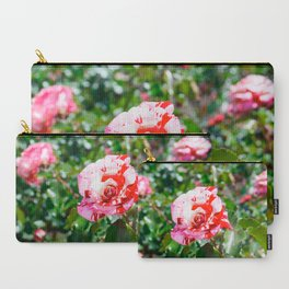 Rose Red Flower Garden Carry-All Pouch