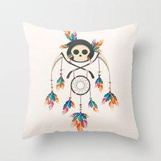 Angel de la Muerte Throw Pillow