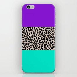 Leopard National Flag III iPhone Skin