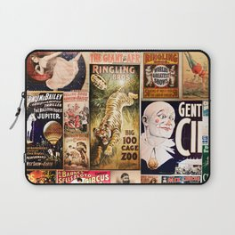 Circus Collage Laptop Sleeve