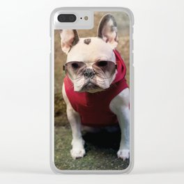 Frencie Thug Life Clear iPhone Case