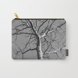 Bare Tree in the sky Carry-All Pouch