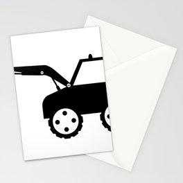 excavator Stationery Cards