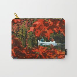 Autumn canoeing Carry-All Pouch