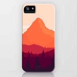 Warm Landscape iPhone Case