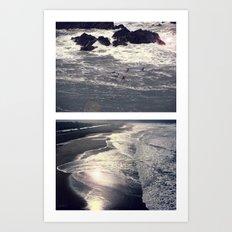 The Sea Art Print
