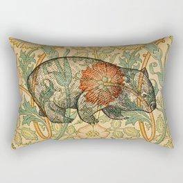 Ode to a Wombat Rectangular Pillow