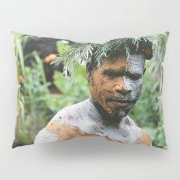 Papua New Guinea Villager Pillow Sham